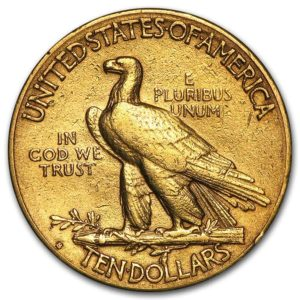 $10 Indian Head Gold Coin