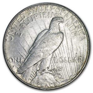 Silver Bald Eagle Coin