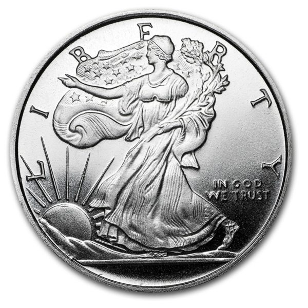 Silver Dollar Walking Liberty