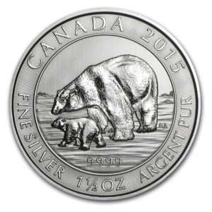 Canadian Silver Coin 2015