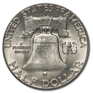 Silver Dollar Franklin