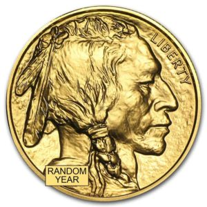 Gold American Buffalo Coin