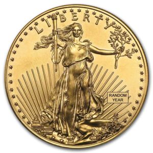 Lady Liberty Gold Coin